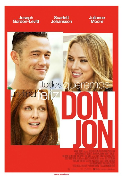 Don Jon affiche du film