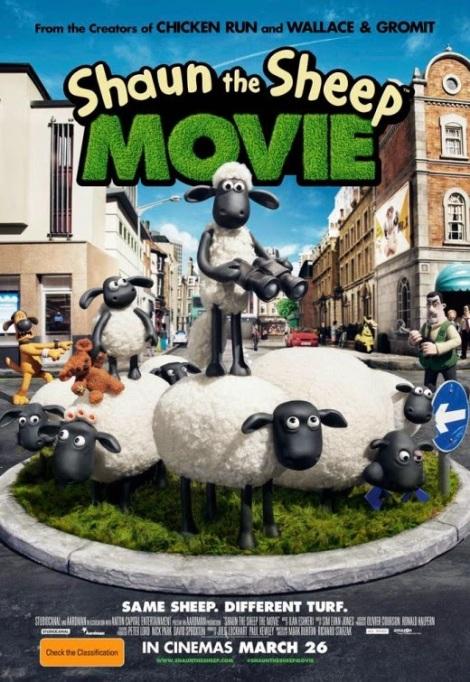 Shaun the sheep - poster